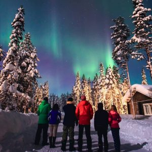 northern lights aurora borealis is lapland wanderlust trips
