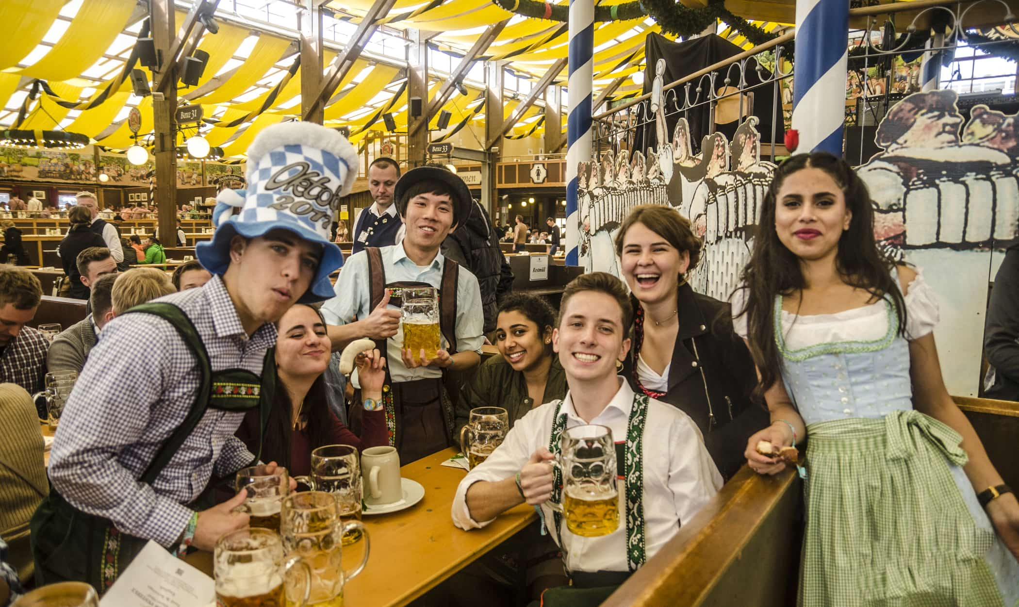 traveling Oktoberfest, Munich with Wanderlust Trips