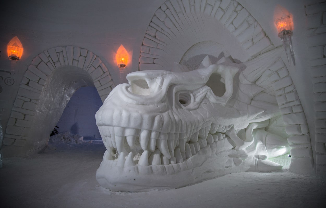 Ice Hotel Lapland Wanderlust Trips Northern Lights Trip
