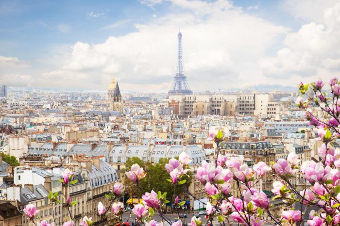 How to travel Paris on Easter 2020